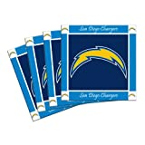NFL San Diego Chargers 4-Pack Ceramic Coasters