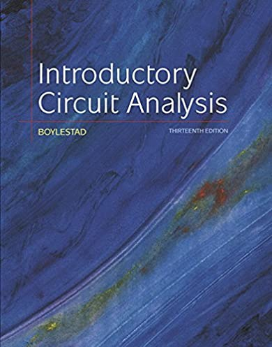 introductory circuit analysis (13th edition) robert l boylestadintroductory circuit analysis (13th edition) 13th edition