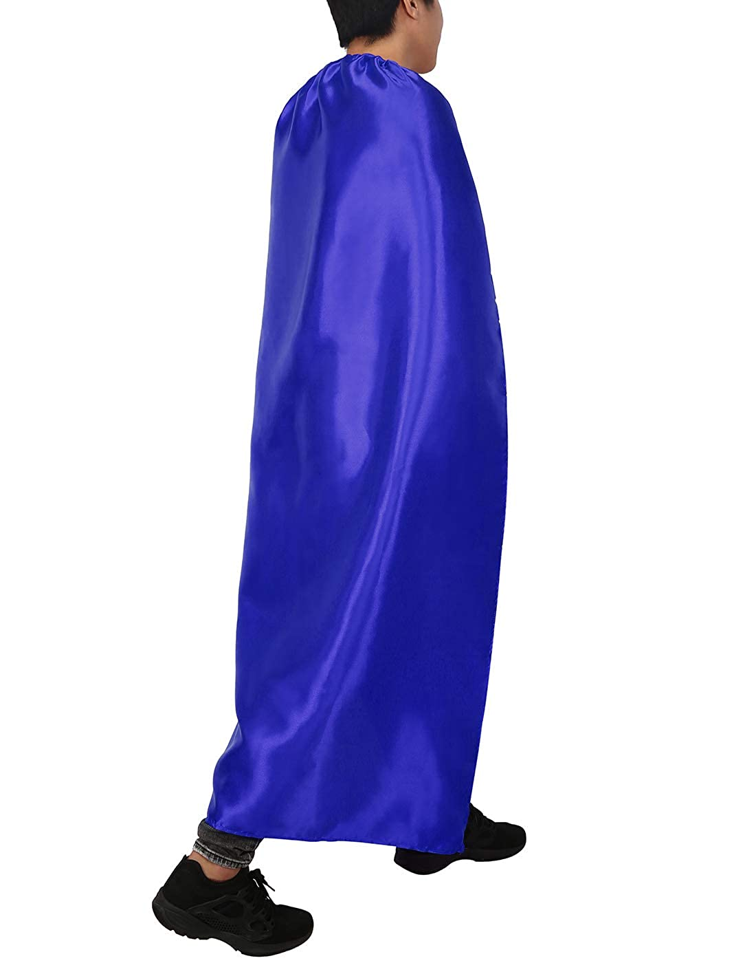 55 Inches Long HDE Adult Superhero Cape Halloween Costume Cosplay Accessory