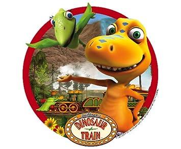 Dinosaur Train Edible Cupcake Toppers Decoration