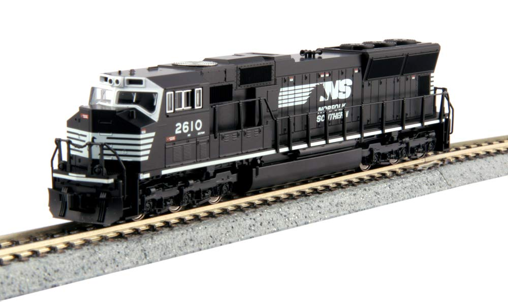 Kato N Scale SD70M Locomotive Norfolk Southern #2610 DCC Equipped USA