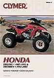 Honda Trx250x 1987-1988, 1991-1992 Trx300ex 1993-2004, Clymer Publications Staff, 0892879033
