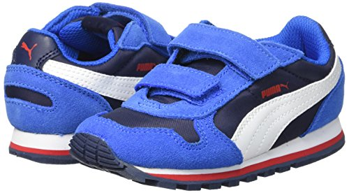 Azul Nl V Runner St Deporte Niños De Puma Zapatillas 8qPSEEw