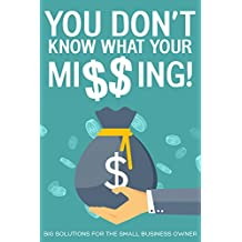 You Don't Know What Your Missing: Big Solutions For the Small Business Owner (Franklin Book 1)