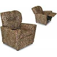 Cup Holder Cheetah Kids Recliner