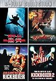 Four-Film Collection (Black Mask / Bloodsport 4 / Kickboxer / Kickboxer 2)