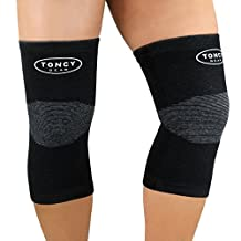Knee Support Sleeves-(Pair) Compression Knee Brace For Knee Pain, Arthritis, Running, Jogging, Hiking, Workout, Improved Circulation & Injury Recovery. For Men & Women