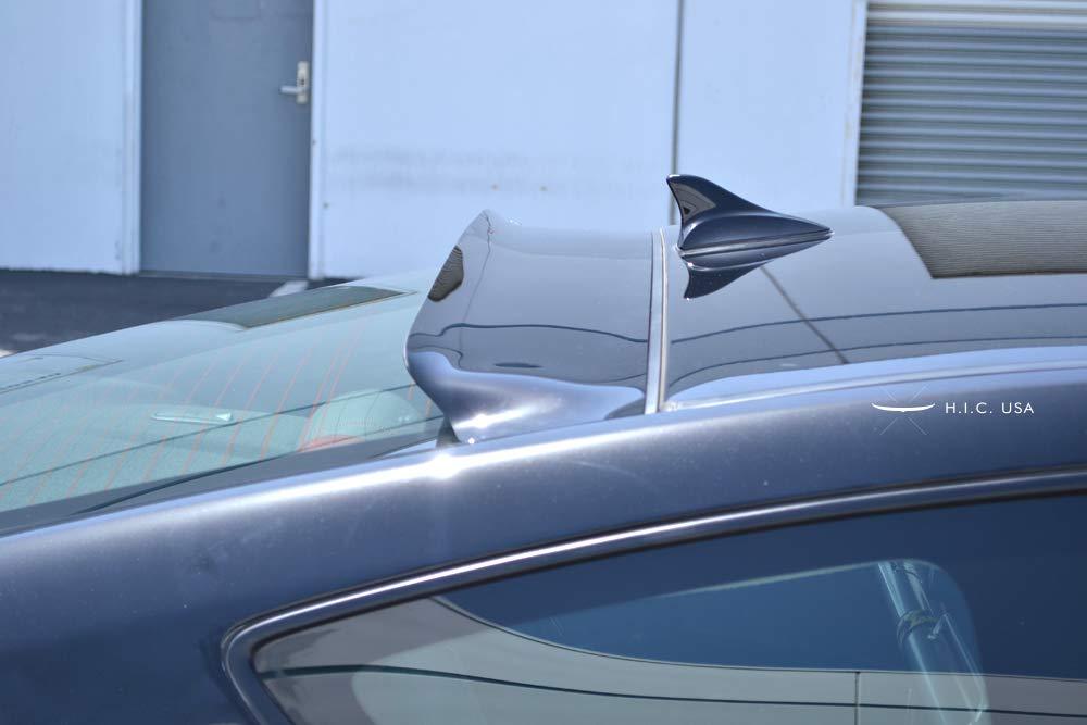 HIC USA 2008 to 2016 Genesis 2 Door Rear Visor (CF Black)
