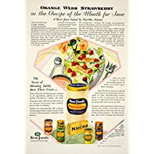 1929 Ad Best Foods Gold Medal Mayonnaise Nucoa Pickle Relish Salad Dressing YGH2 - Original Print Ad