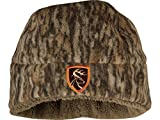 Drake Non-Typical Hydro-Hush Beanie Polyester Mossy Oak Bottomland Camo