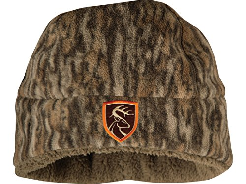 Drake Non-Typical Hydro-Hush Beanie Polyester Mossy Oak Bottomland Camo by Drake (Image #1)