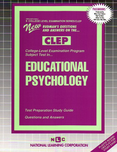 INTRODUCTION TO EDUCATIONAL PSYCHOLOGY  (College Level Examination Series) (Passbooks) (COLLEGE LEVEL EXAMINATION SERIES