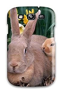Fashion Tpu Case For Galaxy S3- Palomino Rabbits Defender Case Cover