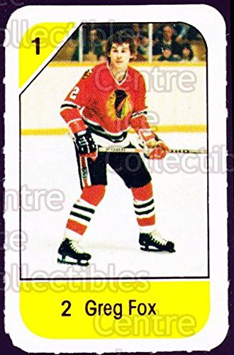 (CI) Greg Fox Hockey Card 1982-83 Post Cereal 49 Greg Fox ()