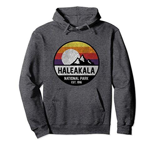 Unisex Haleakala National Park Hoodies Small Dark Heather