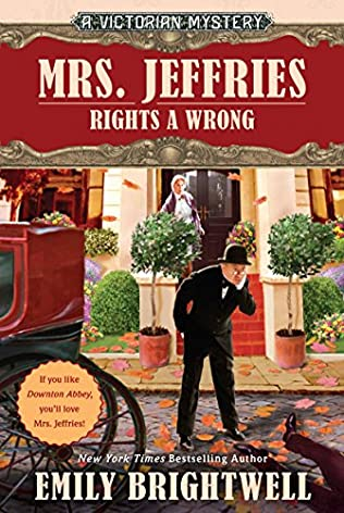 book cover of Mrs. Jeffries Rights a Wrong