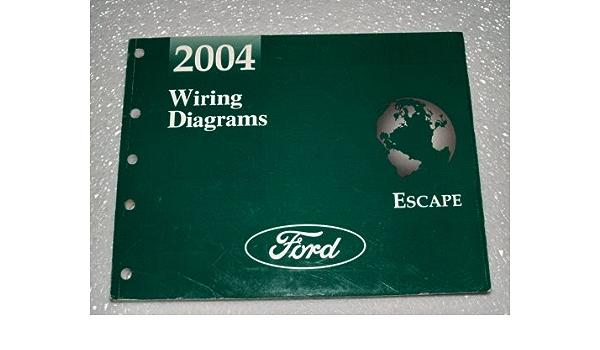 2004 Ford Escape Wiring Diagrams Ford Motor Company Amazon Com Books