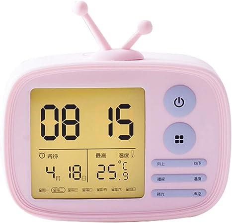 FSGD Réveil numérique, Smart Alarm Clock Electronic Voice