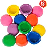 """ArtCreativity 2"""" Rubber Pop Up Poppers Toys Set (Pack of 12) 