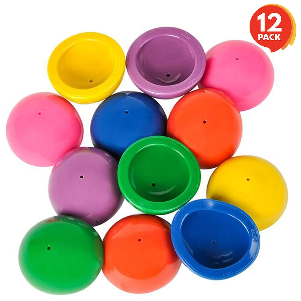 ArtCreativity 2 Inch Rubber Pop Up Popper Toys - Pack of 12 - Assorted Colors - Ideal Impulse Item - Dropper Popper Toy - Great Small Game Prizes, Party Favor and Gift Idea for Boys and Girls Ages 3+