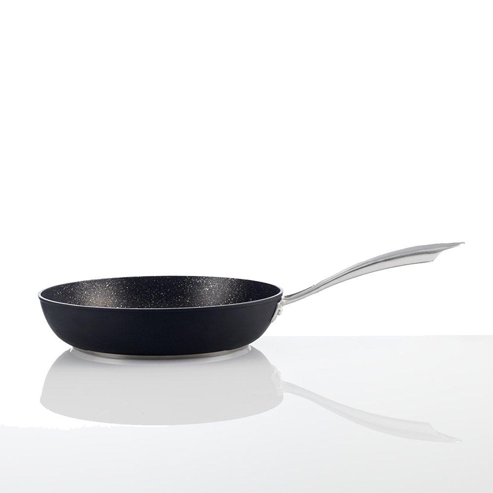 San Ignacio Sarten Apta para Inducción, Negro, 20 cm. diámetro: Amazon.es: Hogar