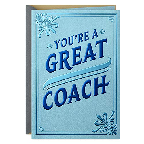 Hallmark Coach Appreciation Card