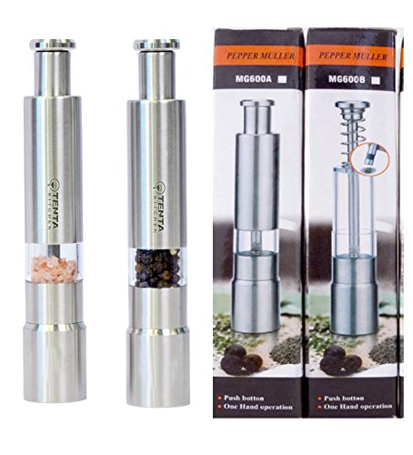 tenta-kitchen-reflex-pump-grind-stainless-steel-salt-and-pepper-mills-with-salt-and-pepper-packets-a