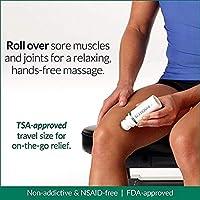 Amazon com: Biofreeze Pain Relief Gel, 3 oz  Roll-On, Fast