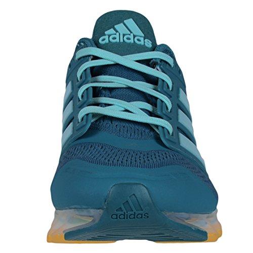 Adidas Springblade Rasoio Da Donna Scarpe Da Corsa Power Teal / Frost Menta / Sol Oro