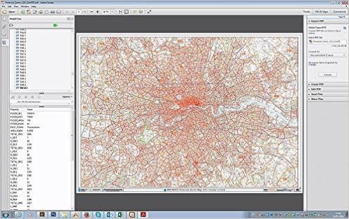 Greater London Map Pdf.Postcode Sector Map G1 Greater London Geopdf Amazon Co Uk