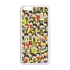 lovely little man cartoon personalized high quality cell phone case for Iphone 6 Plus by runtopwellby Maris's Diary