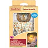 Calico Critters, Doll House Furniture and Décor, Light & Curtain Play Set, Multicolor