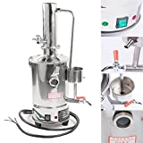 3L-20L Litres New Dental/Home/Laboratory/Chemistry Pure Water Filter Making Electric 304 Stainless Distiller Moonshine Still With Normal/Water Control Type