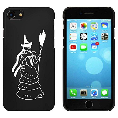 Noir 'Sorcière avec Balai' étui / housse pour iPhone 7 (MC00088956)