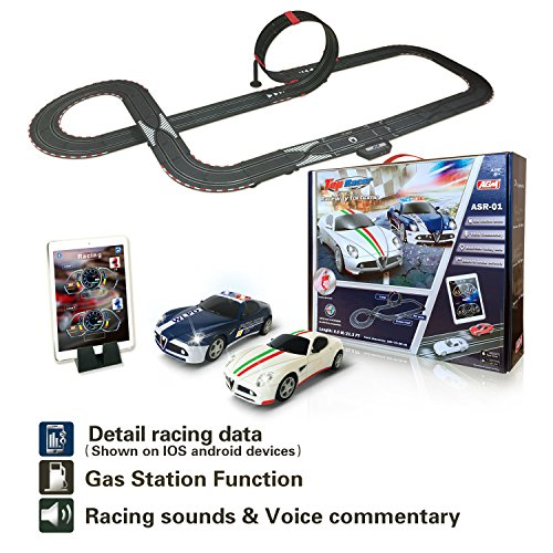 AGM slot car set with racing assistant APP No.ASR-01 1:43 scale by AGM (Image #8)