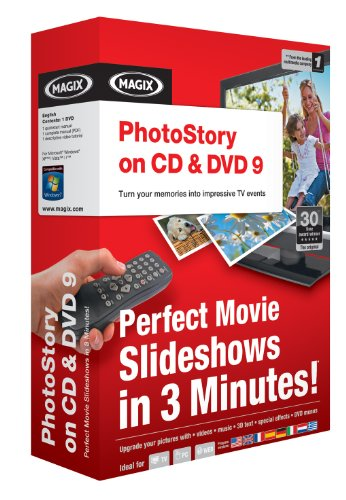 Magix Entertainment PhotoStory on CD and DVD 9 - Windows PC