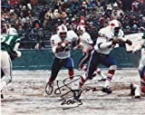 OJ Simpson Autographed / Hand Signed Buffalo Bills 8x10 Photo - with 2003 yards inscription