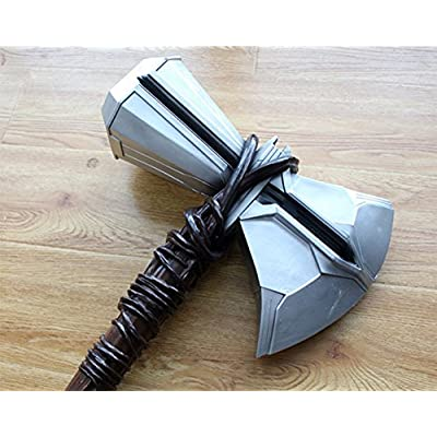 Gmasking 2020 Resin Norse Mythology Storm Axe Cosplay Hammer 1:1 Replica: Toys & Games