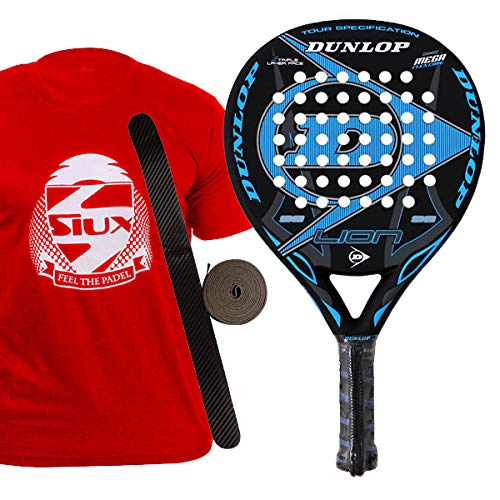 Dunlop Lion Pala de pádel, Unisex Adulto, 38 mm: Amazon.es: Deportes y aire libre