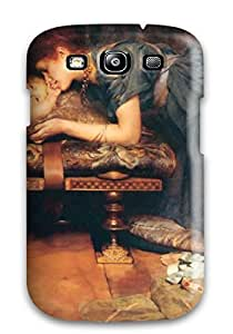 Waterdrop Snap-on Painting Artistic Case For Galaxy S3