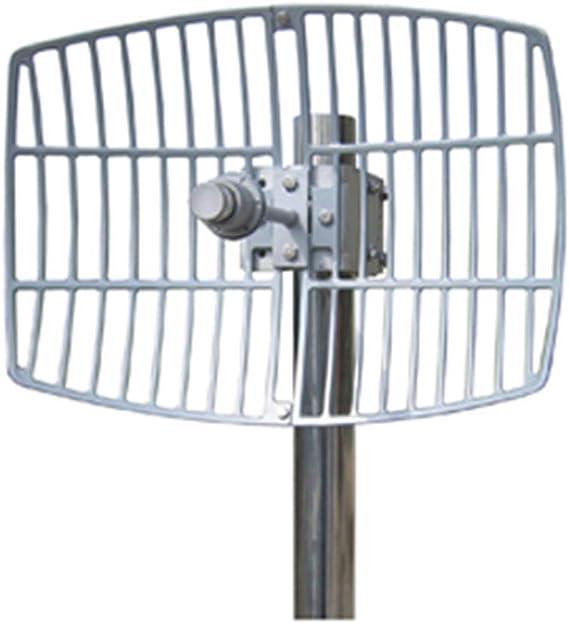 Cablematic - Antena parabólica de 5.5 GHz y 24 dBi: Amazon ...
