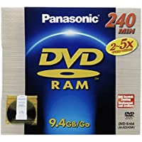 Panasonic LM-AD240LU 9.4GB DVR Double Sided Disc (240 minutes)