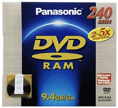 Panasonic LM AD240LU 9 4GB Double minutes