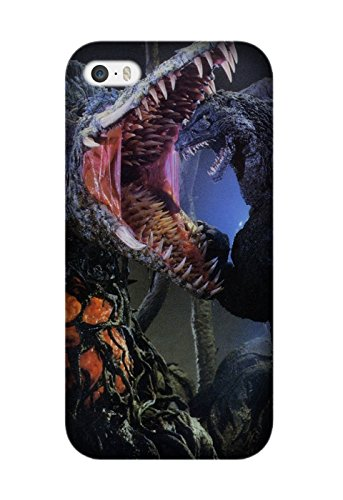 Iphone 6 Plus/6S Plus Protective Case, Godzilla Vs. Biollante Movie Protective Case Bumper [Anti-Slip] [Good Grip] with Aesthetic Print Hard Back Cover for Iphone 6 Plus/6S Plus