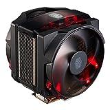Cooler Master MasterAir Maker 8 CPU Air Cooler '8 Heatpipes, 2X Silencio FP PWM Fans, Red LED' MAZ-T8PN-418PR-R1