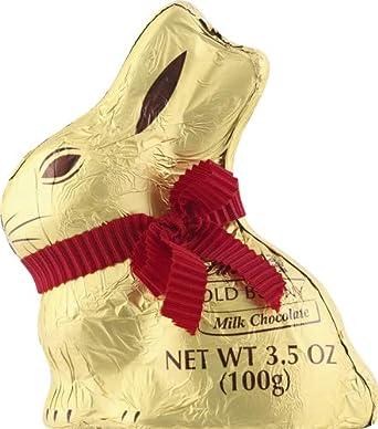 Lindt Gold Bunny Milk Chocolate, 3.5 oz