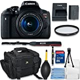 Canon EOS Rebel T6s Digital SLR Camera with EF-S 18-55mm IS STM Bundle includes Camera, 32GB Memory Card, UV Filter, Bag, Cleaning Kit - International Version