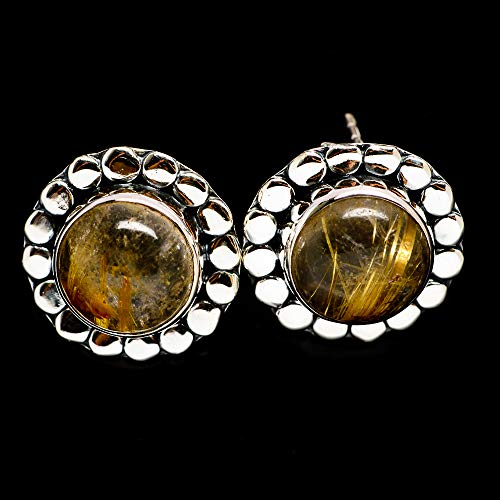 Ana Silver Co Rutilated Quartz Earrings 5/8