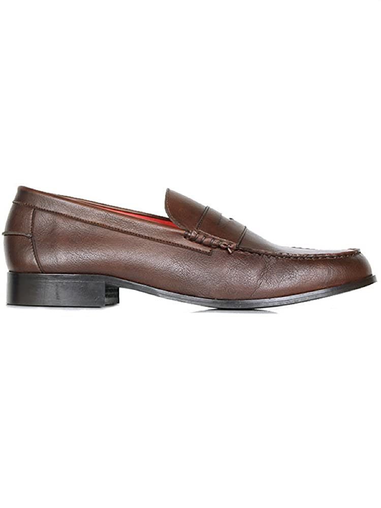 Will's Vegan Shoes City loafers chestnut UK 6 / EU 40 / US 7