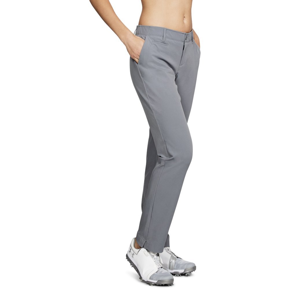 Under Armour Women's Links Pants, Zinc Gray (513)/Zinc Gray, 14 by Under Armour